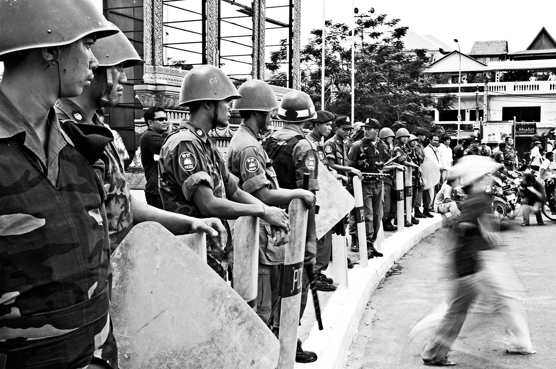 Soldater i Cambodja